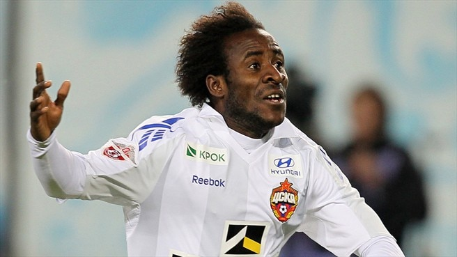 Injured Doumbia ruled out of CSKA matches
