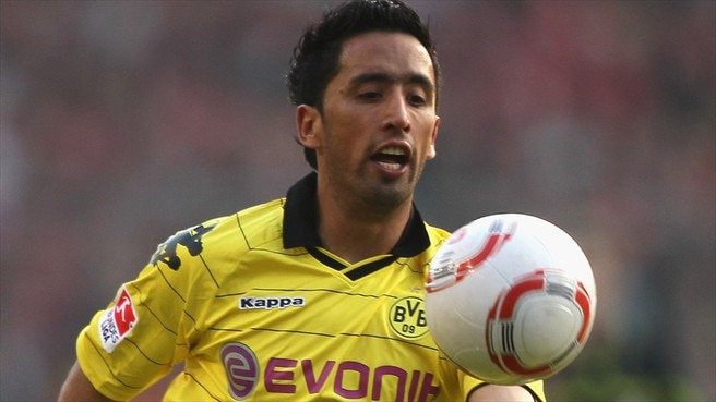 Barrios injury blow for Dortmund