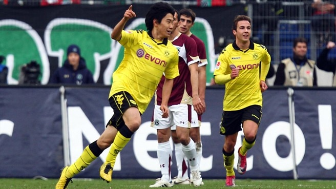 Imperious Dortmund cruise past Hannover