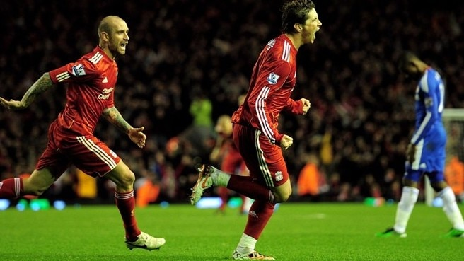 Liverpool rise as Torres torments Chelsea