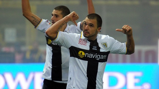 Parma off the bottom thanks to Bojinov