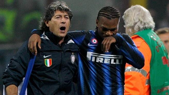 Milito and Obi double Inter's injury woe