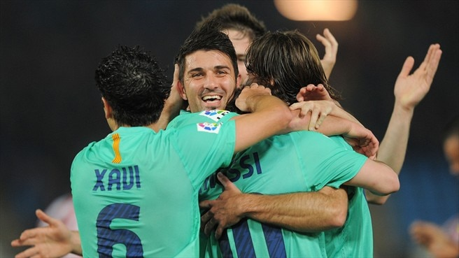 Madrid unmoved by eight-goal Barcelona
