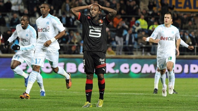 Marseille move clear despite Rennes stalemate