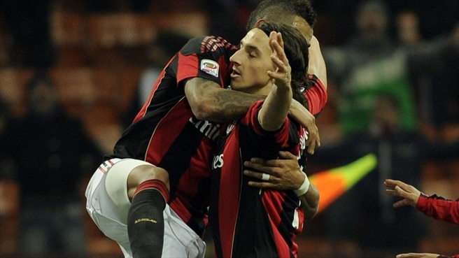 Clinical Milan move back ahead