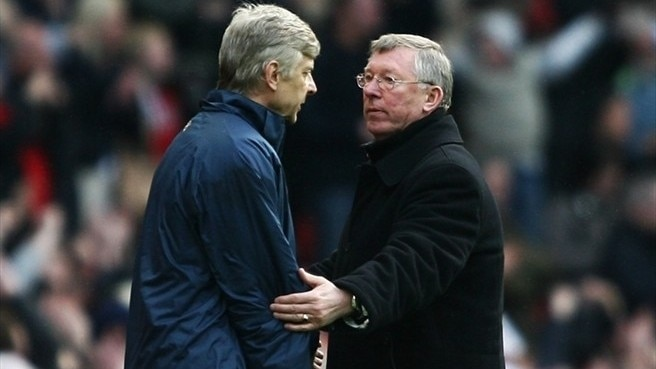 United and Arsenal tussle at the top