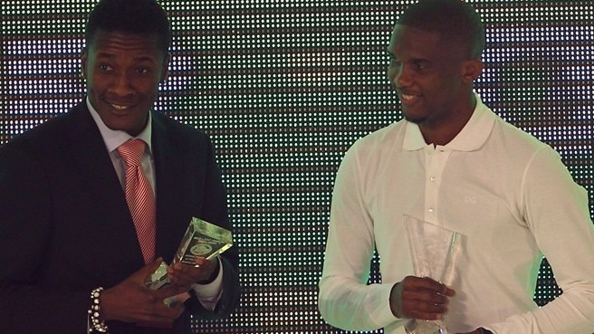 Record-breaker Eto'o named Africa's finest