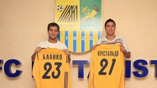 Metalist snap up Argentinian pair
