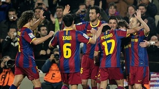 Barça pounce on Madrid slip