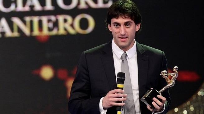 Inter's Milito emerges as Italy's player of 2010