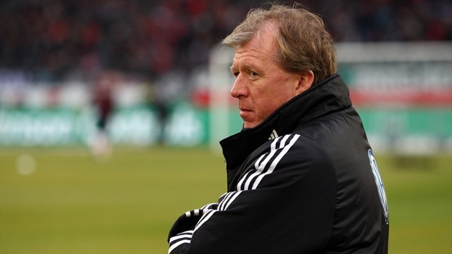 Struggling Wolfsburg part company with McClaren
