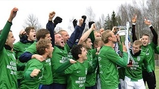 Flora down Trans to lift Estonian Cup