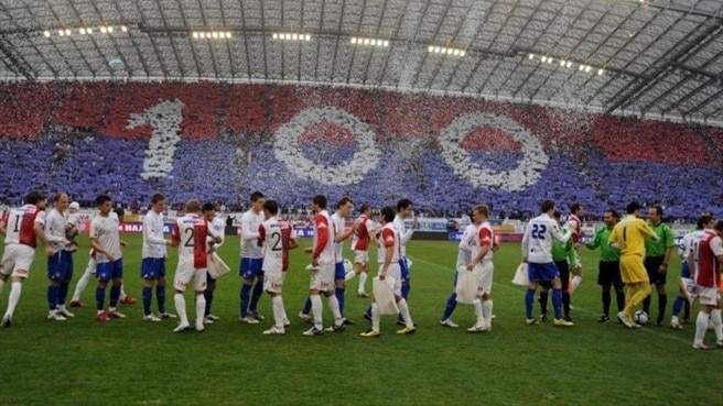 Hajduk mark centenary in style