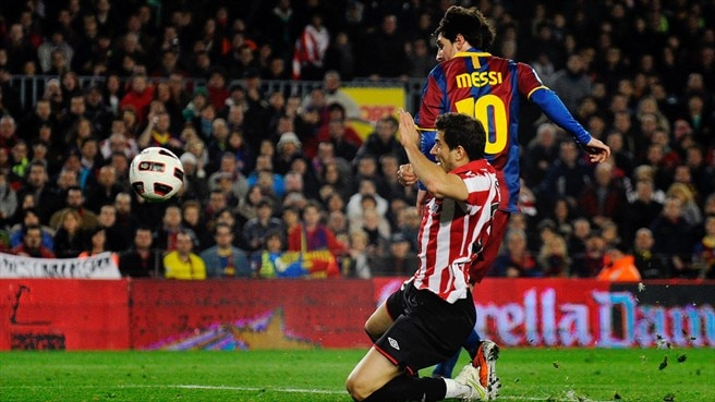 Messi moves clear at top of scoring chart