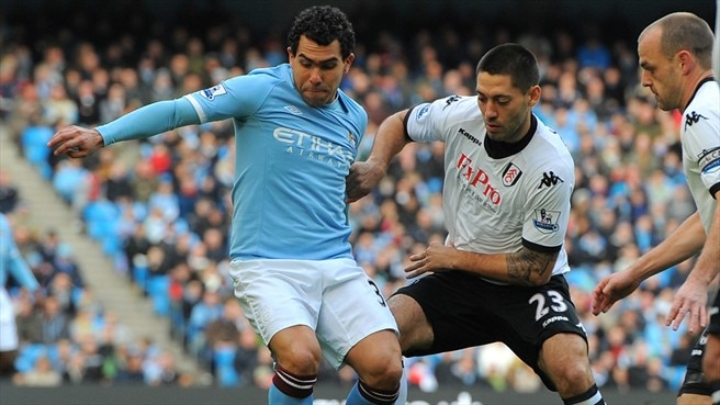 Manchester City frustrated by Fulham