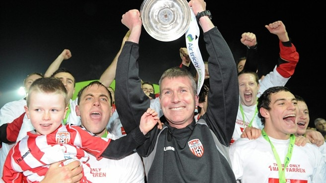Kenny unleashes young Derry on Ireland