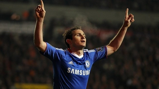 Lampard double helps Chelsea down Blackpool