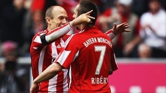 Robben runs the show for re-energised Bayern