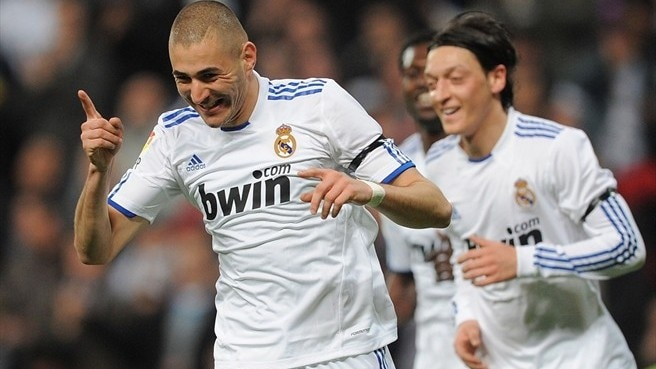 On-song Benzema seals Madrid success