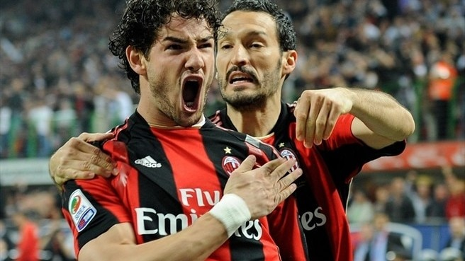 Pato pounces as Milan surge clear of Inter