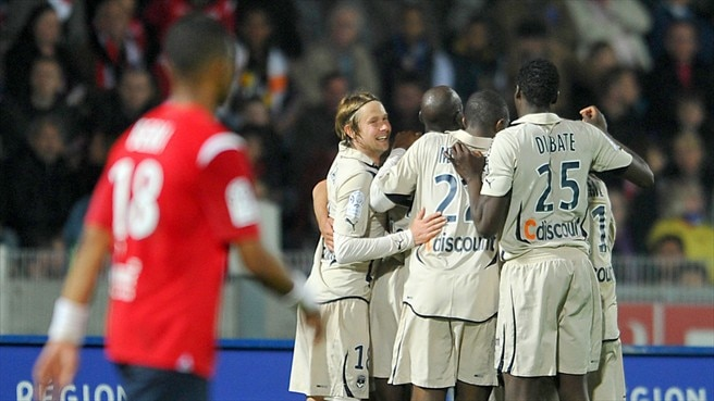 Lille left frustrated by Bordeaux
