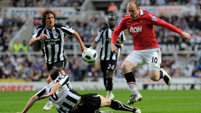 United on course for title after draw at Newcastle