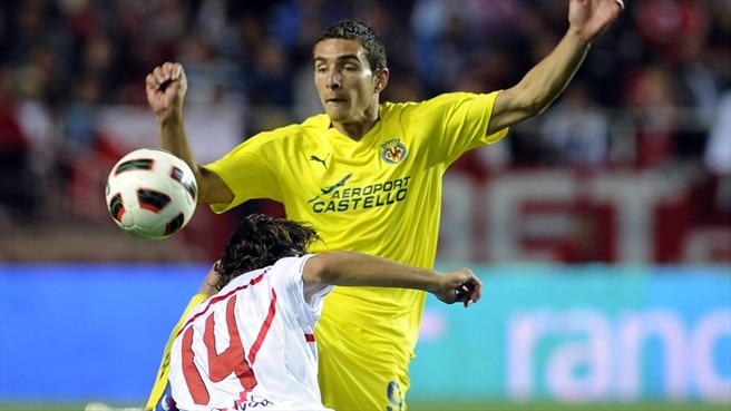 Villarreal's Ruben ruled out of Napoli trip