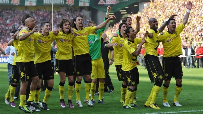 Dede hails Dortmund's 'beautiful' title