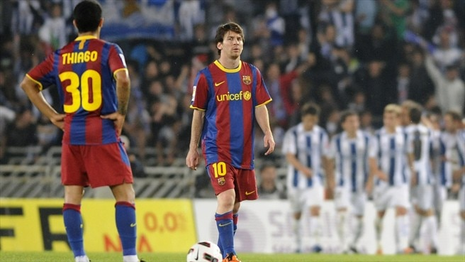Barcelona and Madrid suffer surprise setbacks