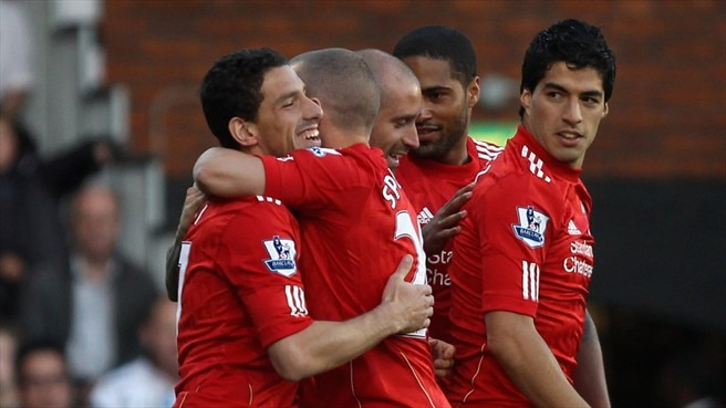 Rampant Liverpool put five past Fulham