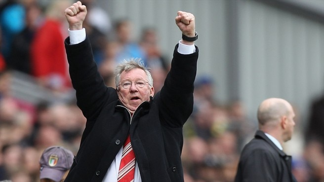 Sir Alex applauds United's title-winning feat