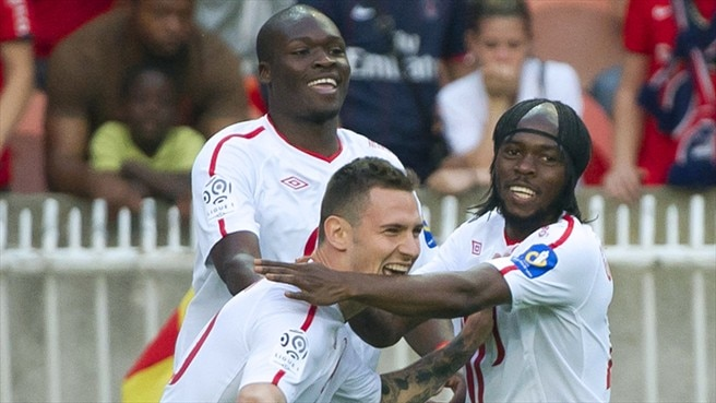 Lille draw with PSG to seal French double