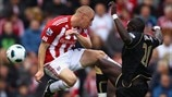 Andy Wilkinson (Stoke City FC) & Mohamed Diame (Wigan Athletic FC)