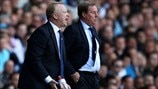 Alex McLeish (Birmingham City FC) & Harry Redknapp (Tottenham Hotspur FC)