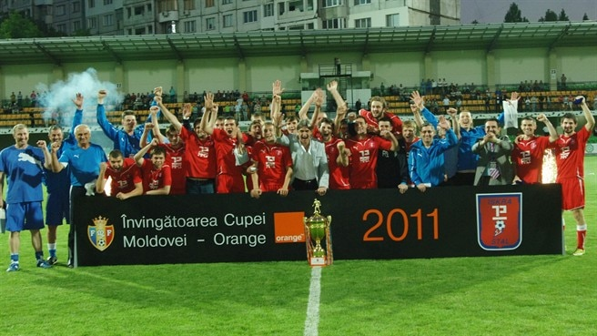 Iskra-Stal taste first Moldovan Cup success