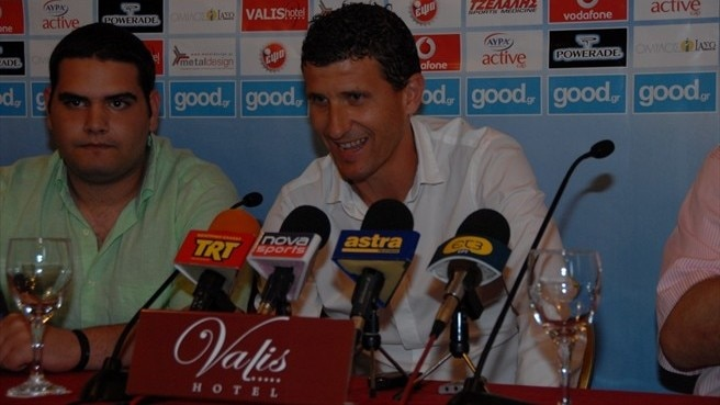 Gracia 'proud' to take over at Olympiacos Volou