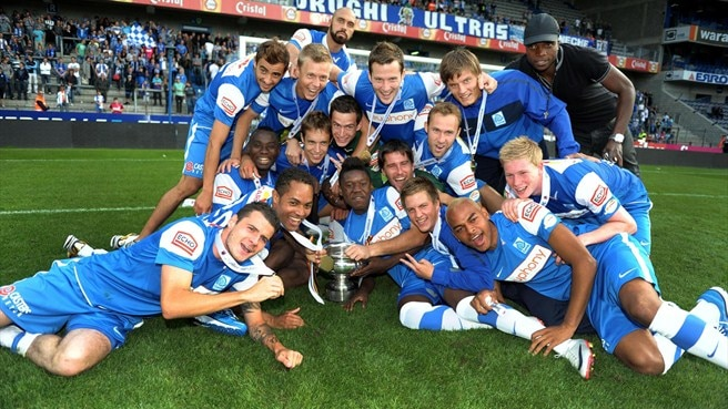 Genk edge Standard to win first Super Cup