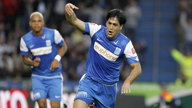Genk forward Barda up for Maccabi Haifa return