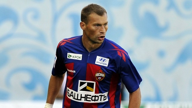 Berezutski ruled out of Russia's EURO campaign