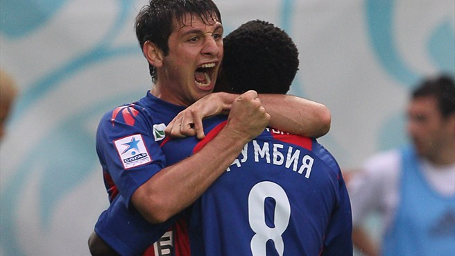 Dzagoev backs CSKA to outfox Madrid