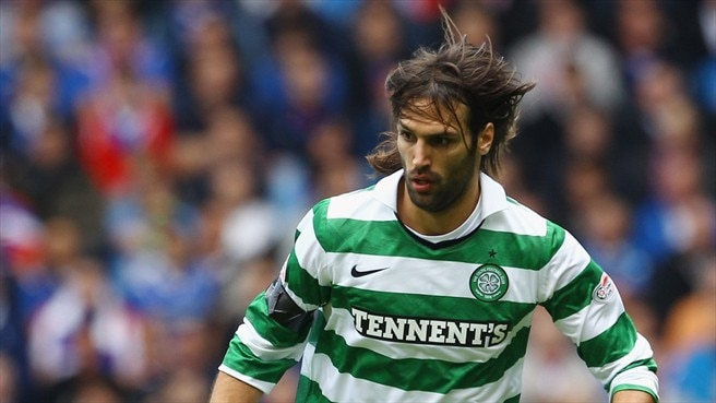 Celtic's Samaras sidelined with elbow injury