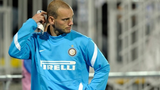 Inter's Sneijder to miss Trabzonspor trip