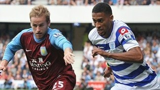 Ten-man QPR snatch late leveller to deny Villa