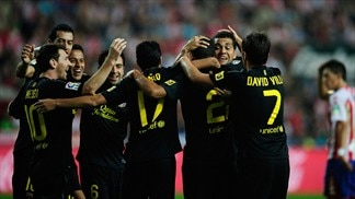 Barcelona and Levante in charge in Spain