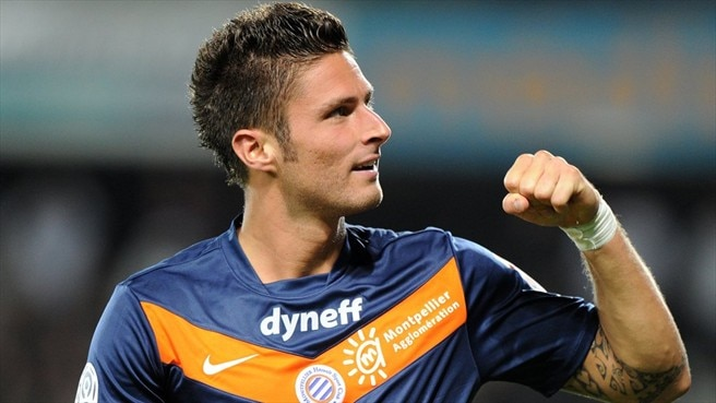 Montpellier's Giroud dreaming big for 2012