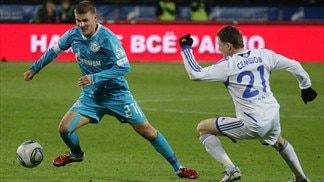 Denisov voted player of season in Russia