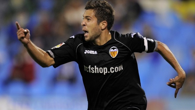Onwards and upwards for Valencia's Jordi Alba