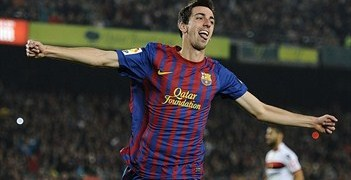 Isaac Cuenca celebrating last season