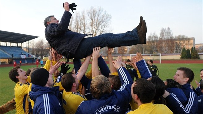 Ventspils secure fourth Latvian crown