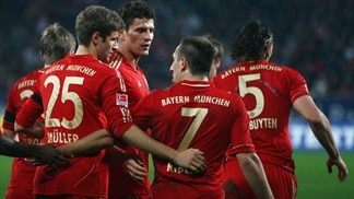 Gomez strikes again as Bayern march on